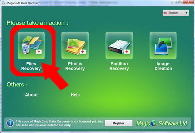 MagicCute Data Recovery - Recover lost photos or pictures on